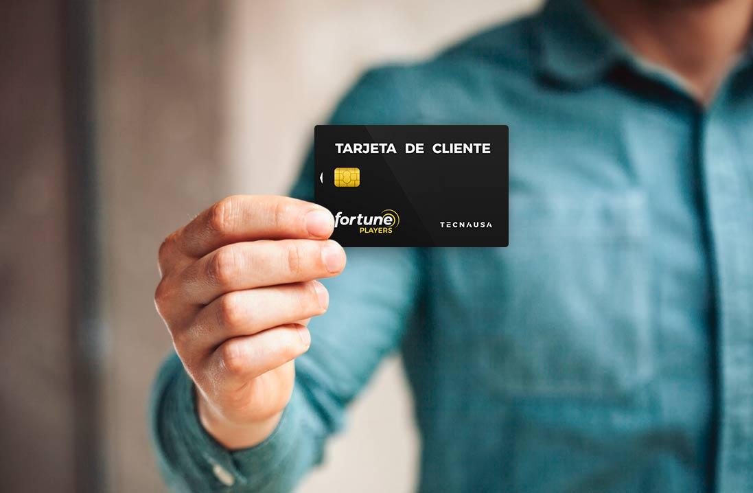 tarjeta fidelizacion tecnausa gaming
